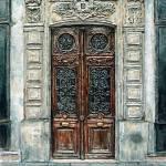 """""""Parisian Door N0.5-3"""" by JoeyAgbayani"""