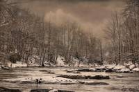 Panther Creek in Snow #4