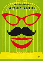 No473 My La cage aux folles minimal movie poster