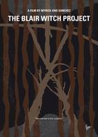 No476 My The Blair Witch Project minimal movie pos