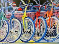 Bicycle Shop - Yellow Bike