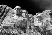 Dark Mount Rushmore