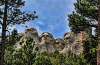 Mount Rushmore In The Pines
