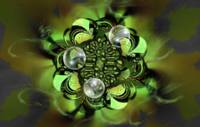 Green Disks and Bubbles
