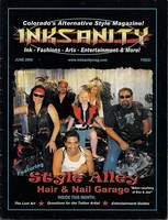 Inksanity Magazine Cover