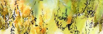 Watercolor Calligraphy Panorama 1