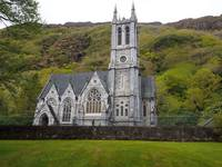 Cathedral At Kylemore Abbey in Ireland