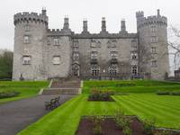 Kilkenny Castle in Kilkenny City Ireland
