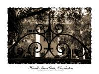 Hasell Street Gate in Sepia