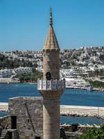 Tower in Bodrum Turkey