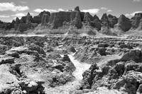 S.D. Badlands V B&W
