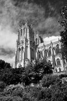 National Cathedral II B&W
