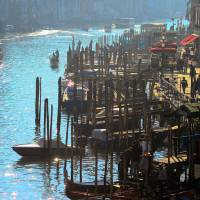 Busy Day in Venice Art Prints & Posters by Filip Mihail