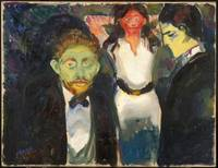 Jealousy by Edvard Munch made 1907