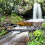 """Scott Falls in Spring - Au Train Michigan"" by sterk"