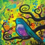 """""""Bird V~Golden Sunrise"""" by juliryan"""