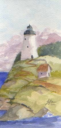 Peaceful Lighthouse II