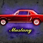 """Vintage Mustang"" by alanhogan"