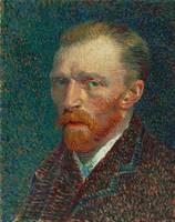Self Portrait by Vincent Van Gogh (1887)