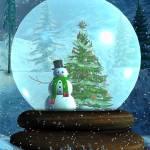 """Snowman Snowglobe"" by SharsImagination"