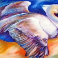 FLIGHT of the Brown Pelican by Marcia Baldwin