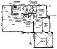 Architectural CAD Drafting Services of an Apartmen