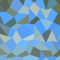Bondi Blue Abstract Low Polygon Background
