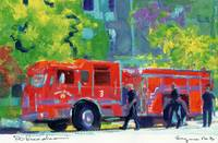 Firetruck Engine #3 By RD Riccoboni