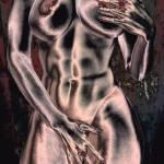 """Abstract retro Nude"" by brianraggatt"