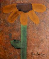 Expressive Art Series 1 Yellow Sunflower