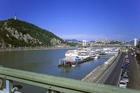 View of the Danube at Budapest, Hungary 2001
