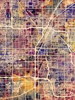 Las Vegas City Street Map