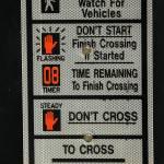 """Crosswalk Instruction Sign"" by rhamm"