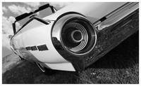 1963 Ford Thunderbird B&W