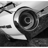 1963 Ford Thunderbird B&W Art Prints & Posters by David Caldevilla