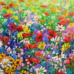 """WILD FLOWER MEADOW"" by cassiakdkb"