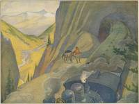 Train in Tunnel, by E Boyd Smith