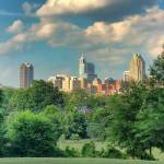 """Raleigh From Dorothea Dix"" by WrightFineArt"