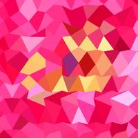 Brink Pink Abstract Low Polygon Background