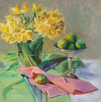 Spring Daffodils & Limes