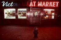 Night Lights NYC Victor Meat Market 001 D Hohmann