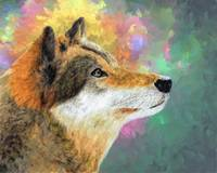 Painting of a  Beautiful Dog