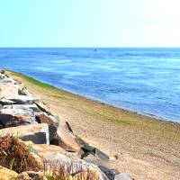 Cape Cod Canal at Scusset Beach Art Prints & Posters by Emily Cabrera