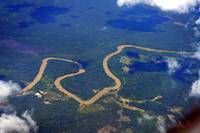 Winding River of Borneo