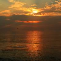 Glorious OBX Sunrise IMG_4672 Art Prints & Posters by Jacque Alameddine