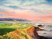 Pebble Beach Golf Course California