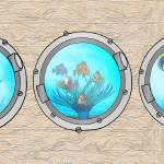 """Triple Portholes"" by SharsImagination"