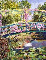 THE FOOTBRIDGE AT GIVERNY