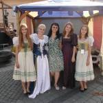 """Isabela with Medieval ladies Sibiu SEP2014"" by easyfigure"