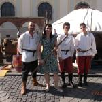 """Isabela with Medieval men Sibiu SEP2014"" by easyfigure"